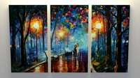 3d painting leonid afremov model