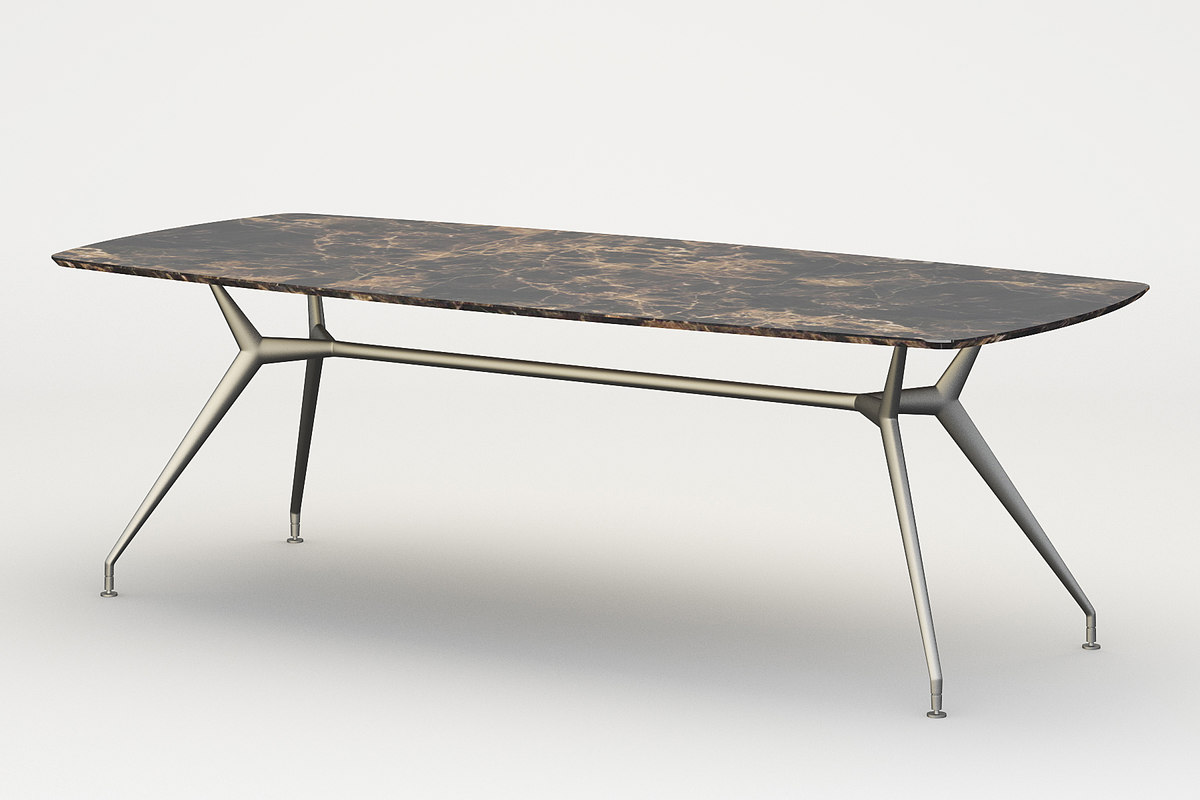 dining table rimadesio manta max