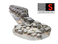 3d model snake s wall sculpture