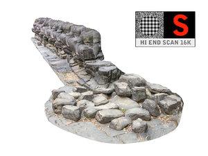 3d model snake s wall sculpture