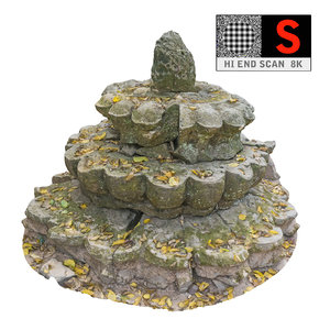 3d ancient buddhist stupa 8k