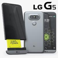 lg g5 3d model