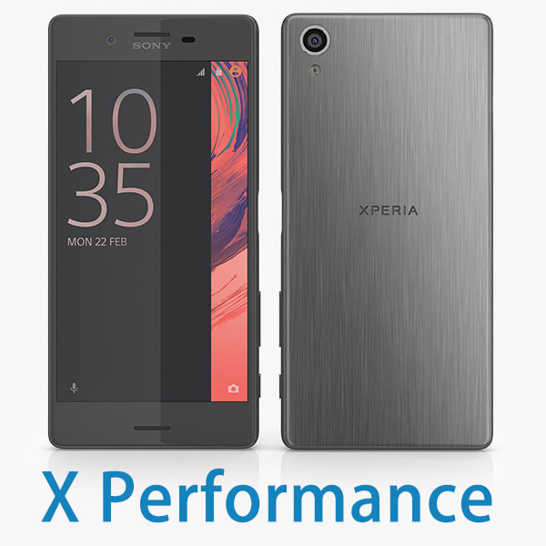 3ds sony xperia x performance