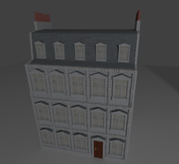 blend european building