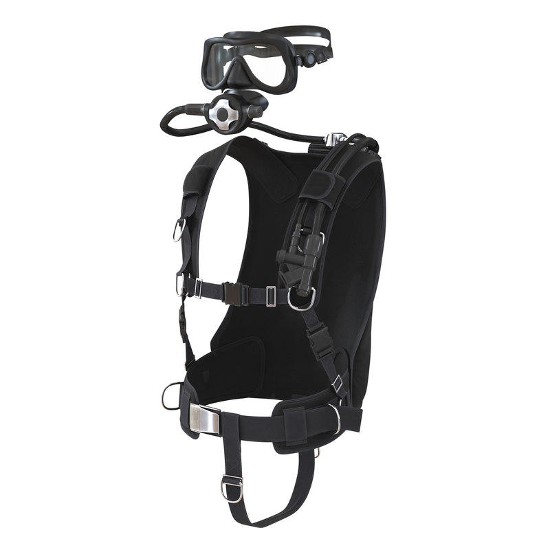 diving equipment 2 3d max