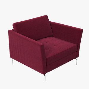3d boconcept osaka chair aa29 model