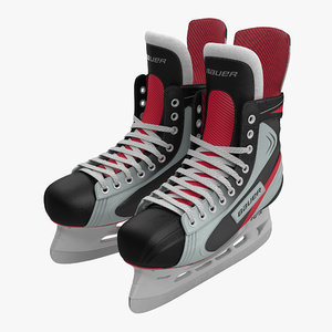 hockey skates bauer 3d 3ds