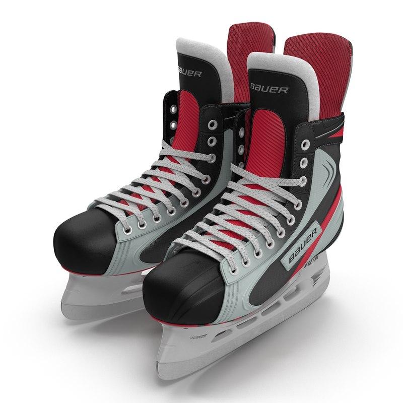 hockey skates bauer 3d 3ds