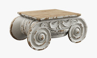restoration hardware distressed ionic capital obj