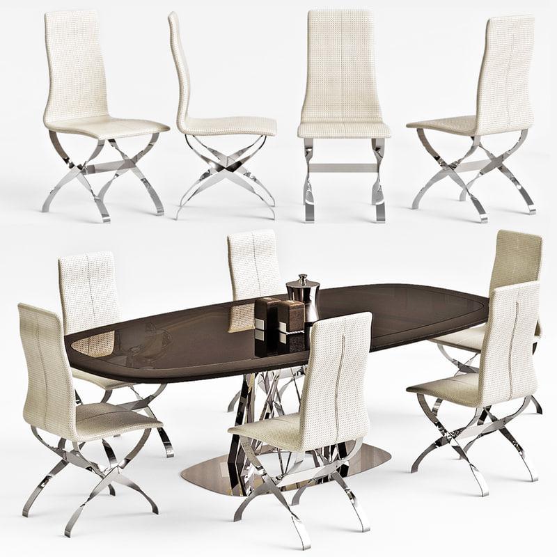 visionnaire dakar chair spider 3d max