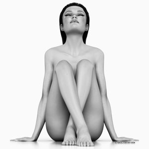 jasmine 5 realistic female 3d model