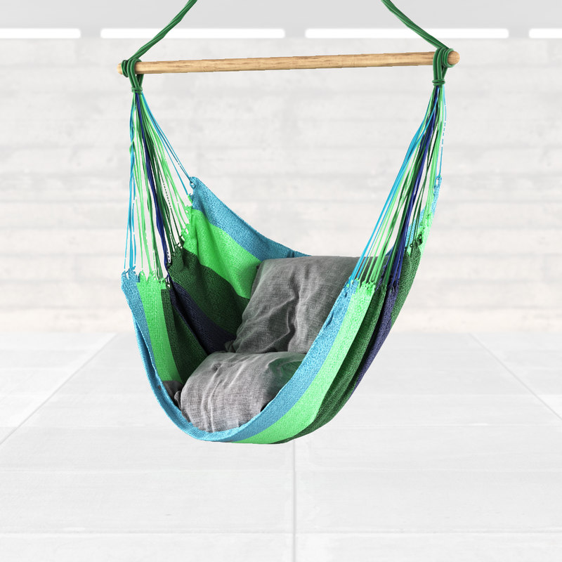 hammock chair 3d model