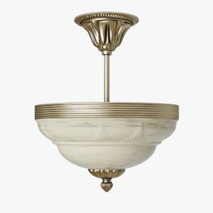 3d model chandelier eglo marbella 85856