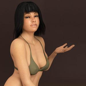 max britney 5 realistic female