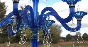 3d max chandelier torpedo taif blu