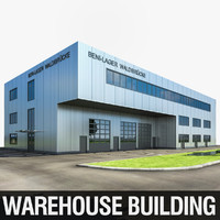 3d warehouse building