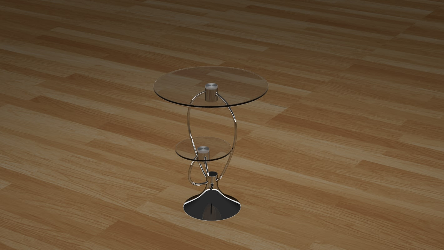 glass table 3d model