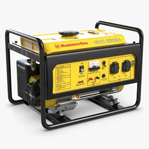 3d model portable generator