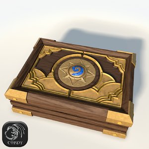 box cards hearthstone lods 3ds