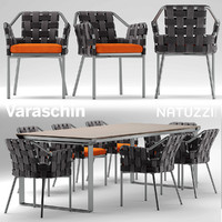 chair natuzzi table 3d max