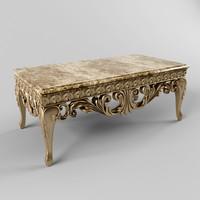 3d coffee table bastex model