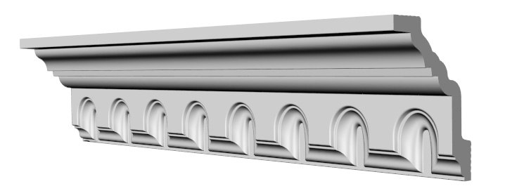 3d cornice 105