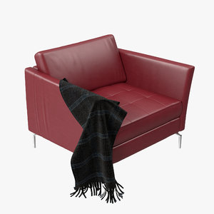 boconcept osaka chair aa29 3d model
