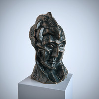 sculpture Picasso Head of fernande