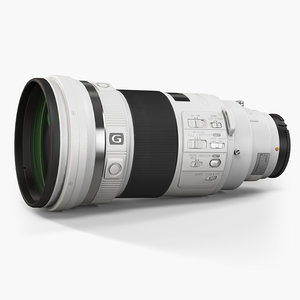 sony 300mm f 2 3d max