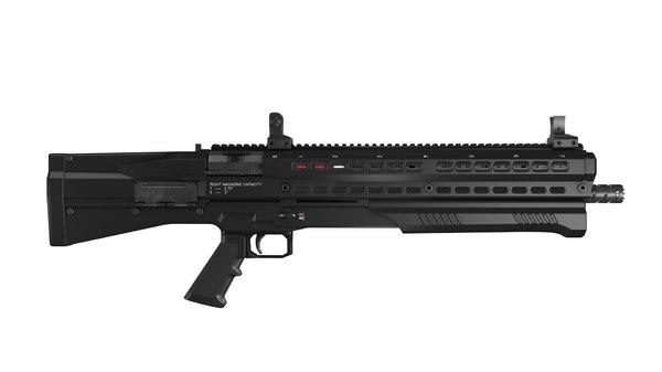 3d shotgun gun model