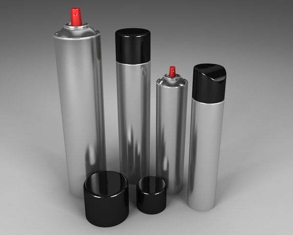 spray bottle 3d model