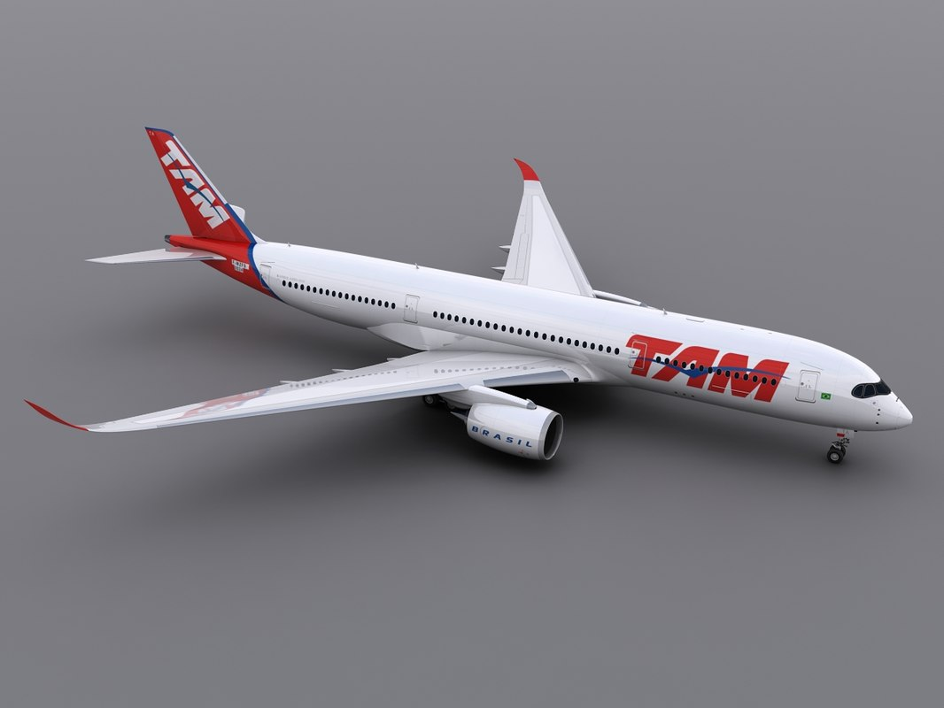 a350-900 tam airlines obj
