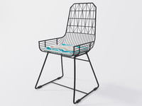 chair frame 3d max