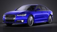 Audi A6L e-tron 2017 VRAY