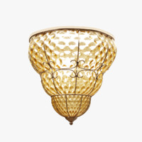 3d model ceiling lamp arte a2203pl-3ab