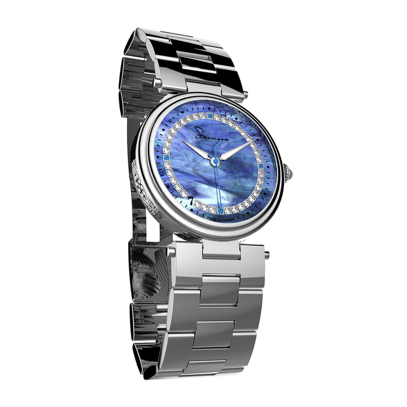 3d model women s wrist watch
