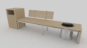 max garden bench