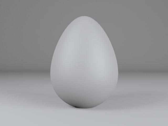 3d max egg
