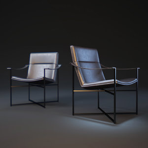 3d model geo-chair