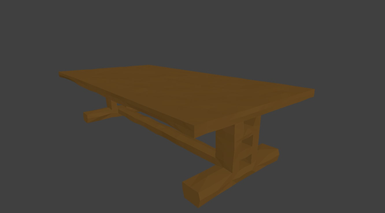 3d table simple
