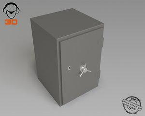 locker 3d max