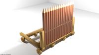 3d model of ramp ram siegecraft
