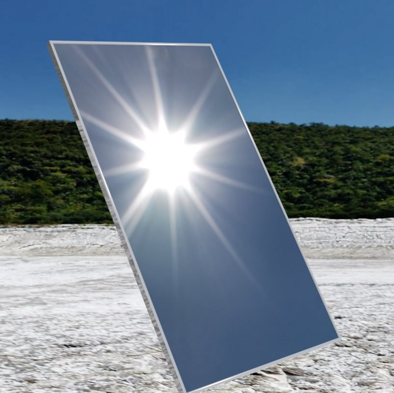 3d model solarworld 60-cell solar panel