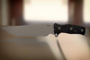 busse combat knife 3ds