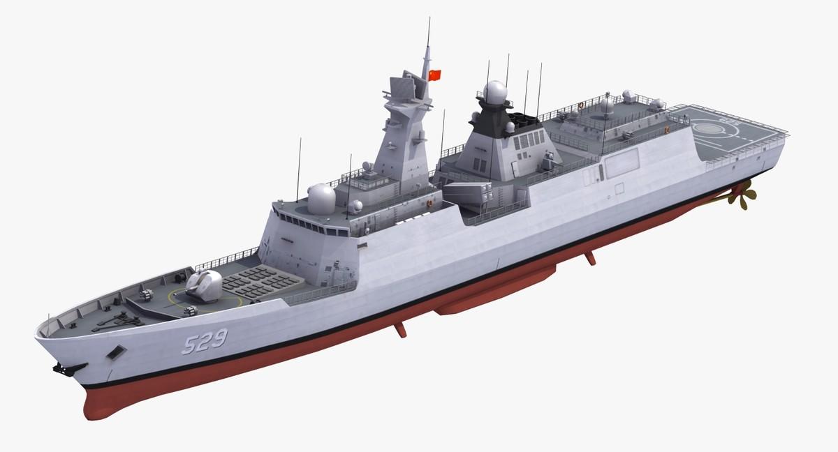 3d type054a jiangkaiii class