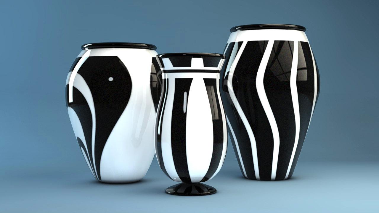 White vases contemporary c4d black white vases contemporary c4d reviewsmspy