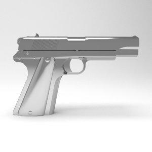 3d model gun vis wz 35