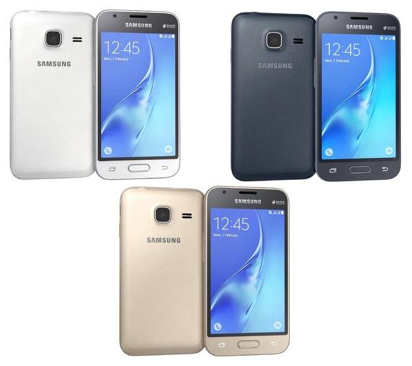 samsung galaxy j1 mini 3d model