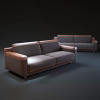 3d como-sofa model
