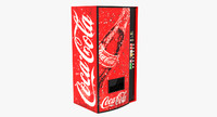 3d model cola vending machine
